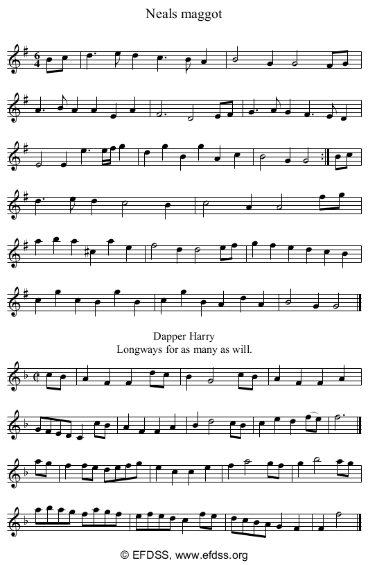 Stave transcription of image number 0 for 3753/p60