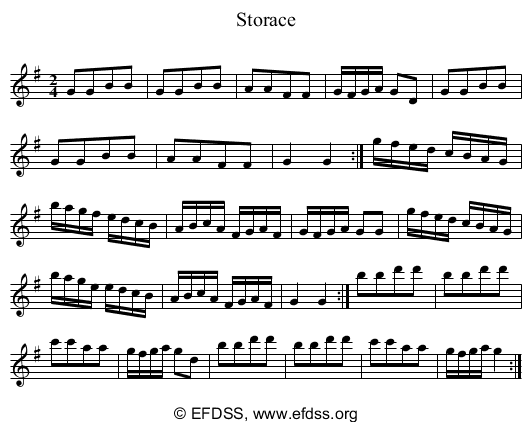 Stave transcription of image number 0 for 5234/p12