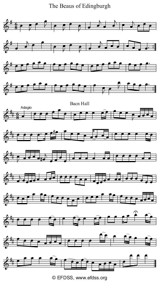 Stave transcription of image number 0 for 5234/p25
