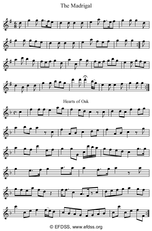 Stave transcription of image number 0 for 5234/p28