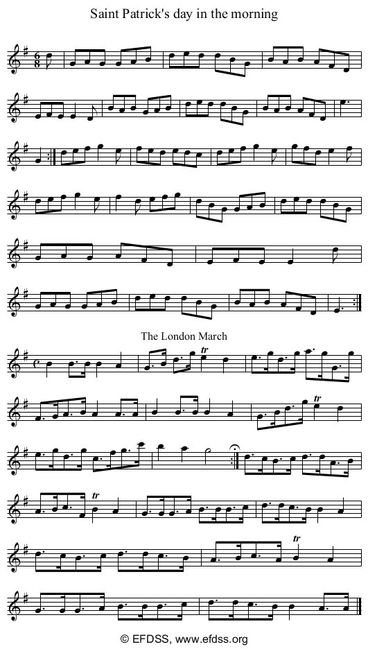 Stave transcription of image number 0 for 5234/p29