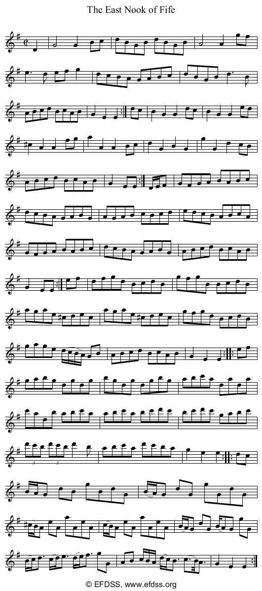 Stave transcription of image number 0 for 5234/p62