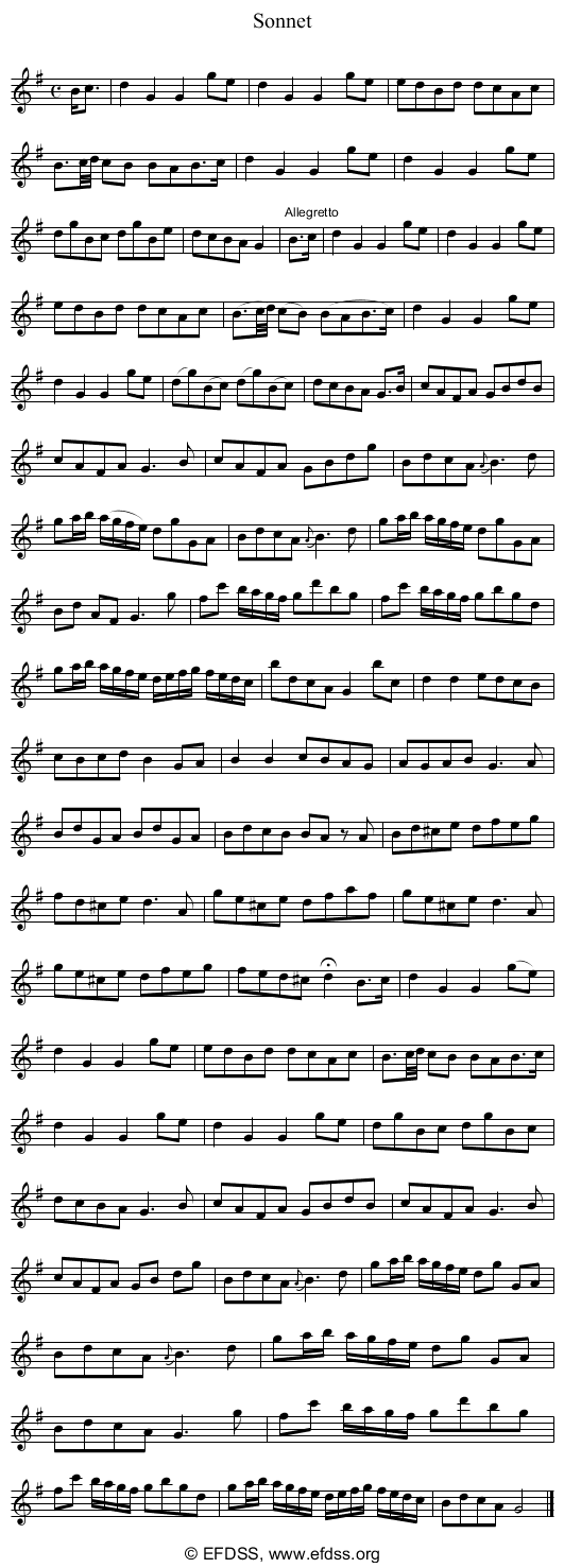 Stave transcription of image number 0 for 5234/p64