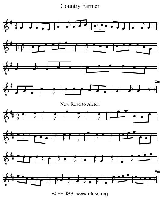 Stave transcription of image number 0 for 5234/p8
